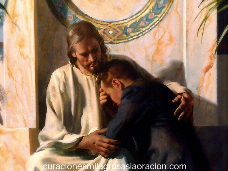 Oración pidiendo el perdón